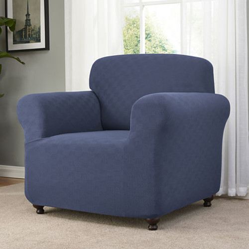Checker Board Chair Slipcover
