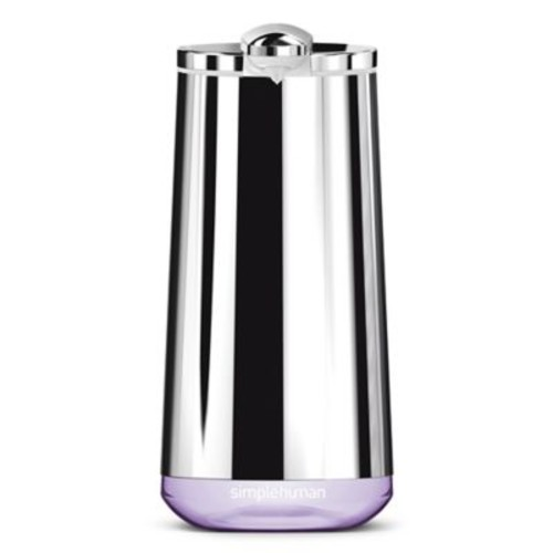 simplehuman Rechargeable Foaming Sensor Pump with Lavender Soap