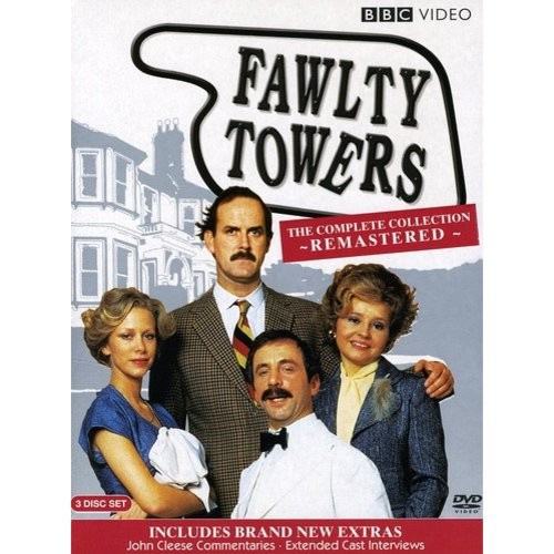 Fawlty Towers Remastered Special Edition DVD