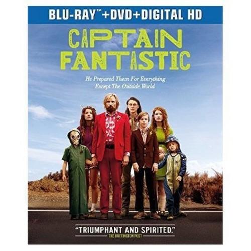 Captain Fantastic (Blu-ray + DVD + Digital)