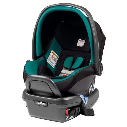Peg Perego Primo Viaggio 4/35 Infant Car Seat with base, Aquamarine [Aquamarine]