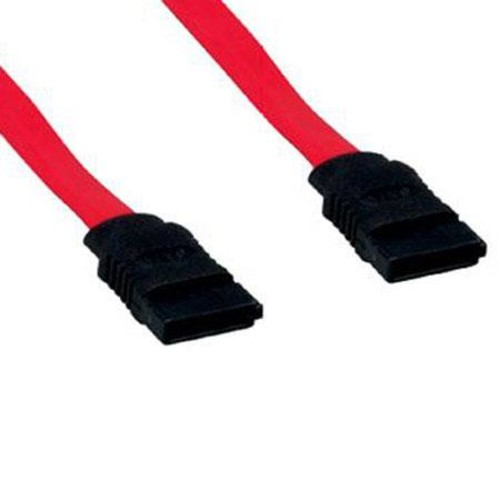 Comprehensive 3' Serial ATA Flat Ribbon Cable, 180 degree, 7 conductors SATA-1807FR-3