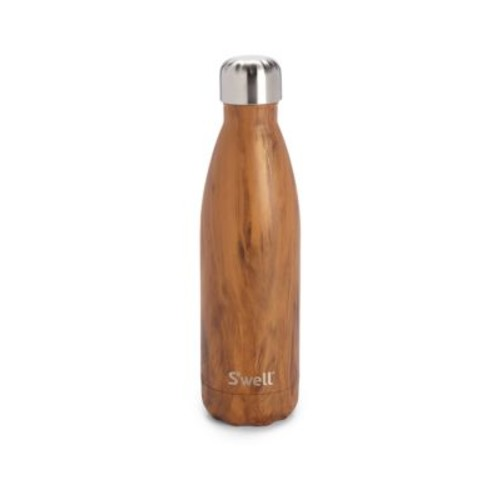 Teakwood Stainless Steel Reusable Water Bottle