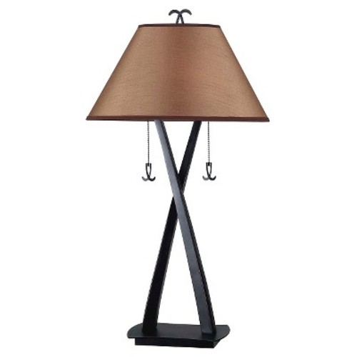 Kenroy Home 20100ORB Wright Table Lamp in Oil Rubbed Bronze