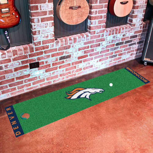 FanMats NFL Denver Broncos Putting Green Mat