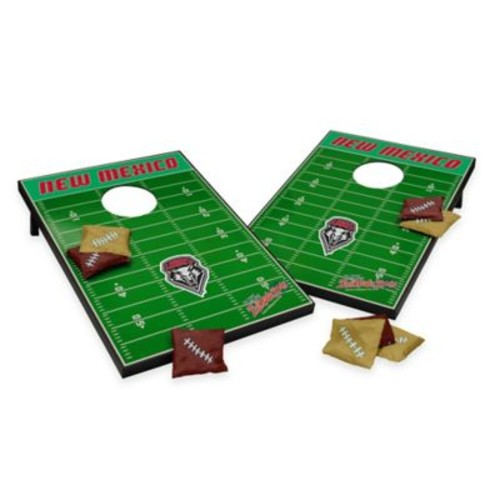 NCAA University of New Mexico Field Tailgate Toss Cornhole Game