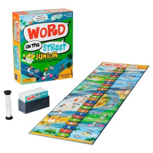 Educational Insights Word on the Street Junior: The Wacky Tug of Words Game