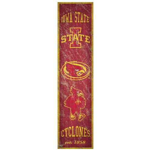 Iowa State Cyclones Heritage Banner Wall Art
