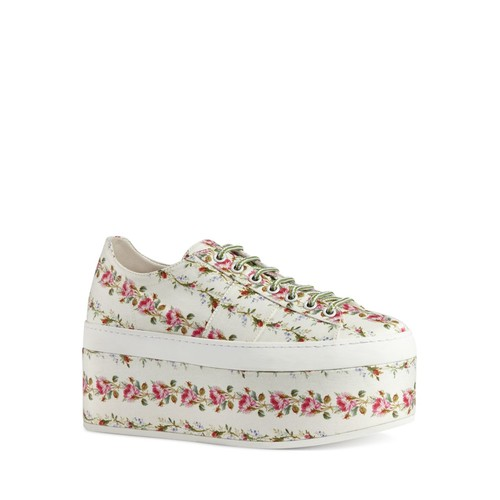 GUCCI Peggy Platform Lace Up Sneakers