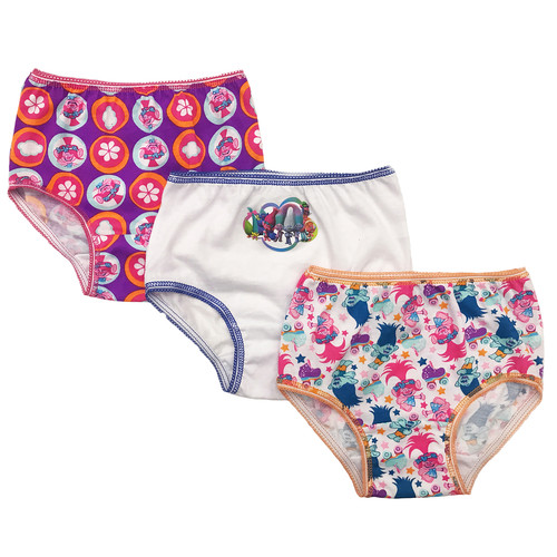Trolls 3 Pack Underwear - Toddler