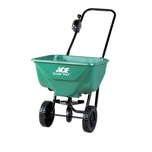 Ace Green Turf Push Broadcast Spreader 65 lb.(2030AT)