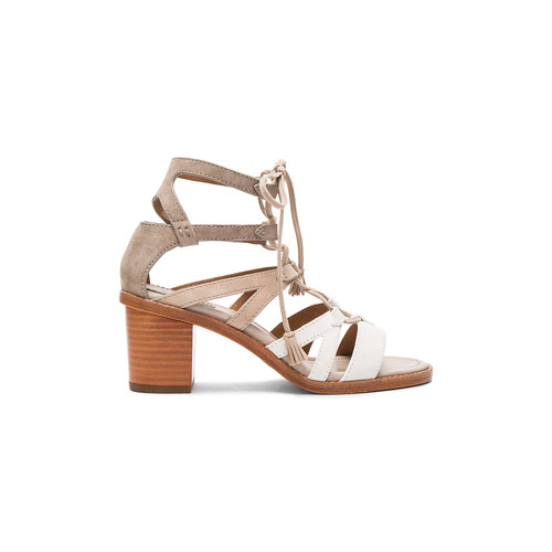 Frye Brielle Gladiator Heel in White Multi