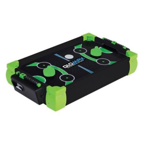 Franklin Sports Glomax 20-Inch Zero Gravity Air Hockey in Black/Green