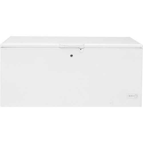 GE - 21.7 Cu. Ft. Chest Freezer - White