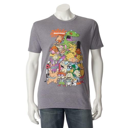 Men's Nickelodeon Character Tee