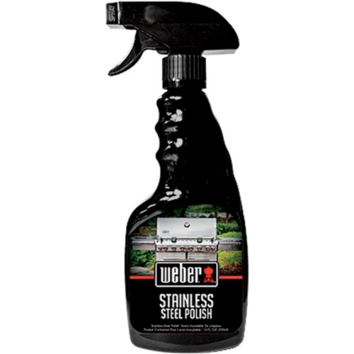 Weber 12 Oz. Grill Stainless Steel Polish (W67)