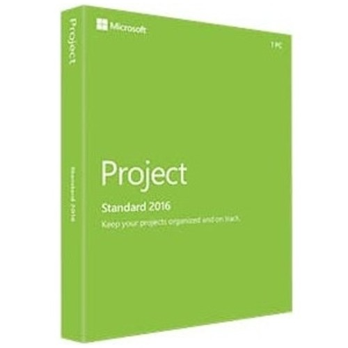 Microsoft Project 2016 Standard - Box Pack - 1 License