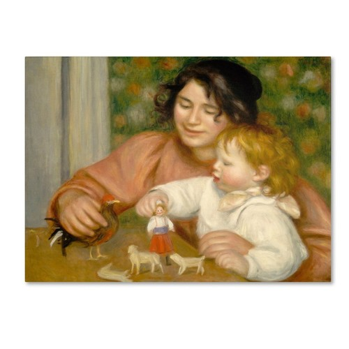 Trademark Fine Art 'Child With Toys 1895-96' 24