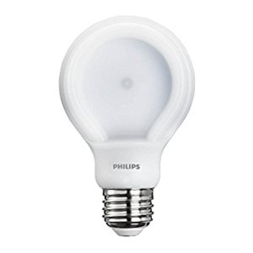 Philips 433219 40 Watt Equivalent SlimStyle A19 LED Light Bulb Daylight, Dimmable [1 Pack, 40 Watt Equivalent Daylight]