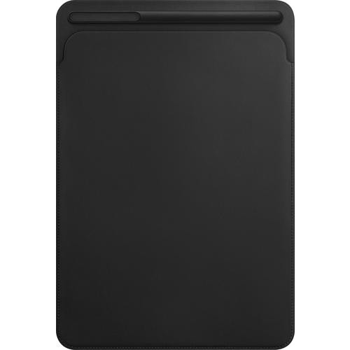 Apple - Leather Sleeve for 10.5-inch iPad Pro - Black
