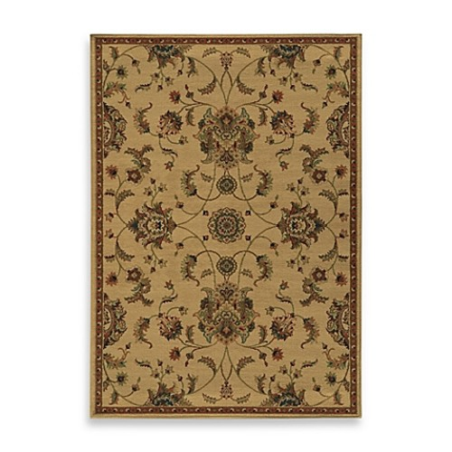 Oriental Weavers Parker Traditional 1-Foot 10-Inch x 3-Foot 3-Inch Accent Rug in Beige