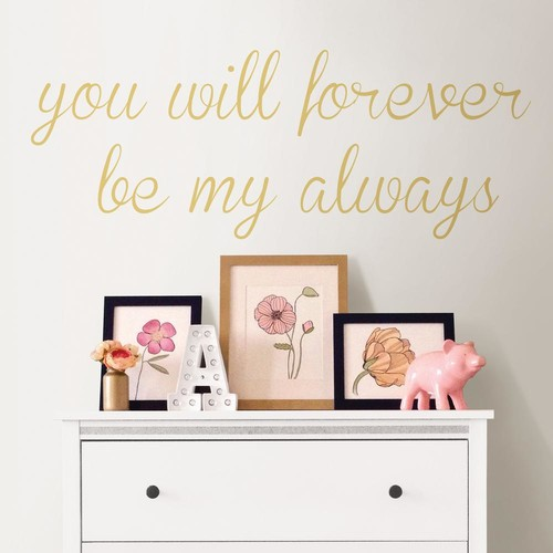WallPOPs Neutral Forever My Always Wall Quote Decal