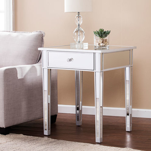 Reflections Dcor Mirrored Accent Table