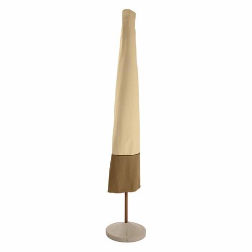Classic Accessories Veranda Patio Umbrella Cover 78902, Pebble