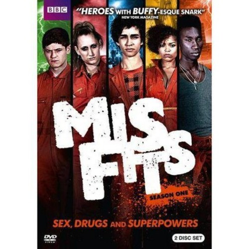 Misfits: Season One [2 Discs] [DVD]