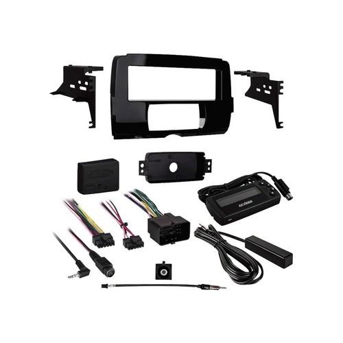 Metra - Dash Kit for Select 2015 Harley Davidson Vehicles - Black