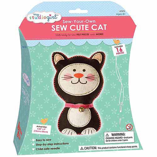 My Studio Girl Sew-Your-Own Sew Cute Cat