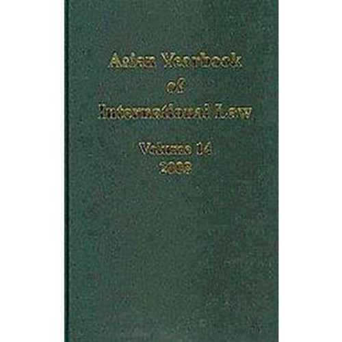 Asian Yearbook of International Law, 2008 (14) (Hardcover)
