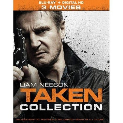 Taken 3 Movie Collection (Blu-ray)