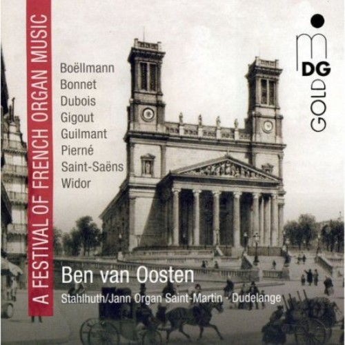 A Festival of French Organ Music [CD]