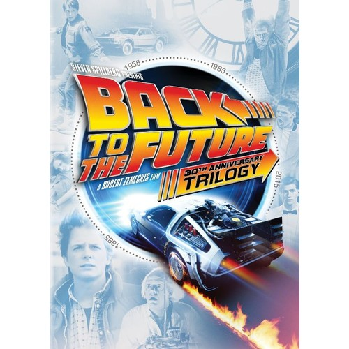 Back to the Future: 30th Anniversary Trilogy [5 Discs] [DVD]