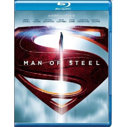 Man of Steel (Blu-ray): Henry Cavill, Amy Adams, Michael Shannon, Kevin Costner, Diane Lane, Laurence Fishburne, Antje Traue, Ayelet Zurer, Christopher Meloni, Russell Crowe, Michael Kelly, Harry Lennix, Richard Schiff, Zack Snyder, Charles Roven, Christopher Nolan, Emma Thomas, Deborah Snyder, David S. Goyer: Movies & TV