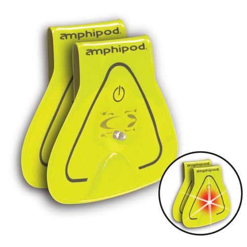 Vizlet Flashing LED Reflectors - Yellow - Package of 2