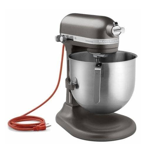 KitchenAid Commercial - KSM8990DP - 8 qt Dark Pewter Commercial Stand Mixer