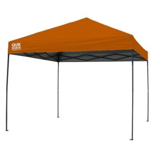 Quik Shade Expedition 100 Team Colors 10 ft. x 10 ft. Orange Instant Canopy