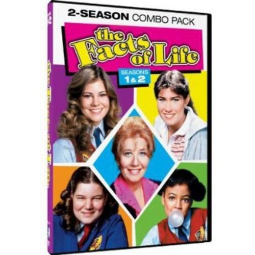 The Facts of Life: Seasons 1 & 2 [3 Discs] [DVD]
