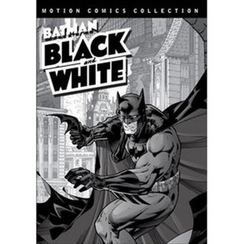 Batman: Black and White - Motion Comics Collection (dvd_video)