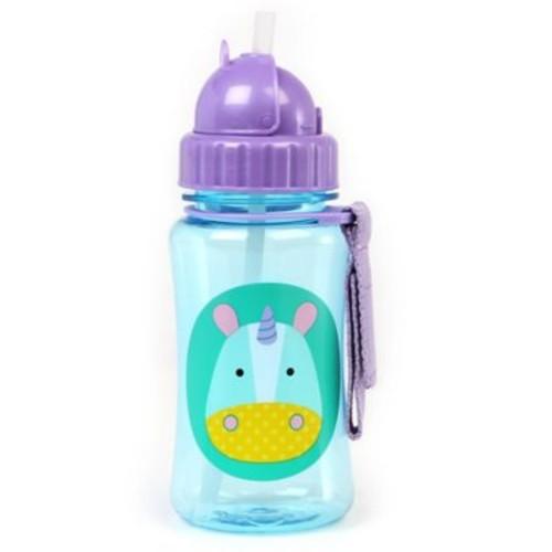 SKIP*HOP Zoo Unicorn Straw Bottle