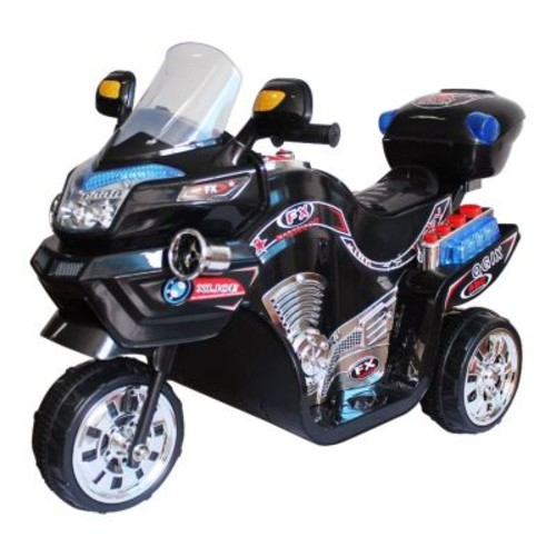 Ride on Toy, 3 Wheel Motorcycle for Kids, Battery Powered Ride On Toy by Lil' Rider  Ride on Toys for Boys and Girls, 2 - 5 Year Old - Black FX [Black, Standard Packaging]