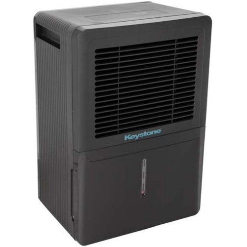 Keystone - 70-Pint Portable Dehumidifier - Black