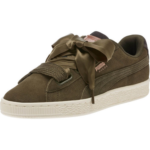Suede Heart VR Womens Sneakers