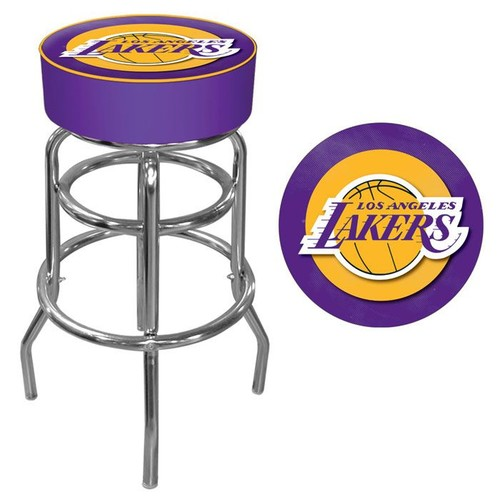 NBA(CANONICAL) Los Angeles Lakers Padded Swivel Bar Stool