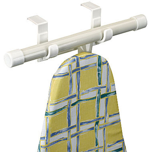 Household Essentials 126 T-LEG Over The Door Ironing Board Holder [White/Off-white]