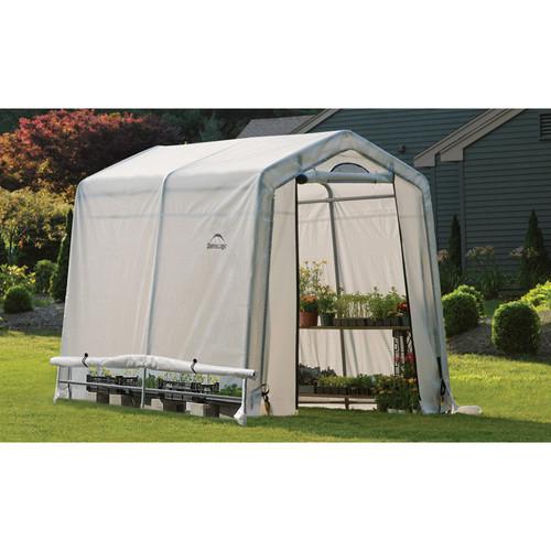 ShelterLogic GrowIT Greenhouse  6ft.W x 8ft.L x 6ft.6in.H, Model# 70652