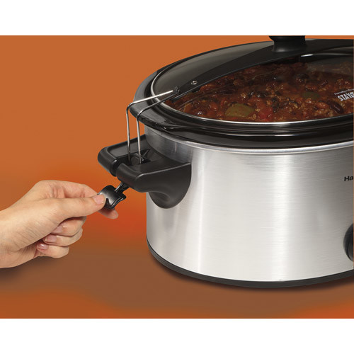 Hamilton Beach 33262 Stay or Go 6-Quart Slow Cooker [Standard packaging]
