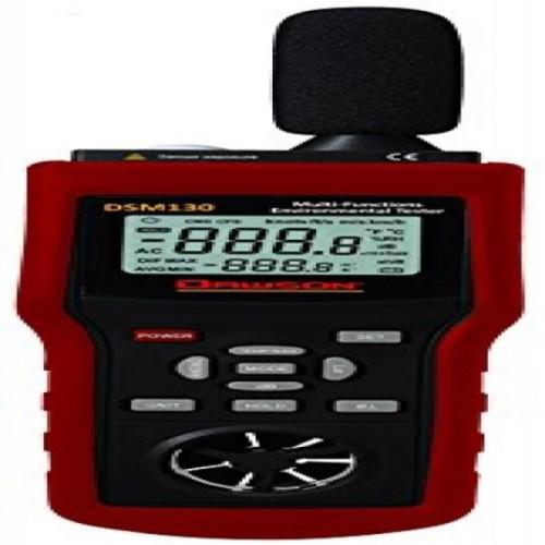 Dawson DSM130 Multi-Functional Environmental Tester Sound / Temperature / Humidity / Wind